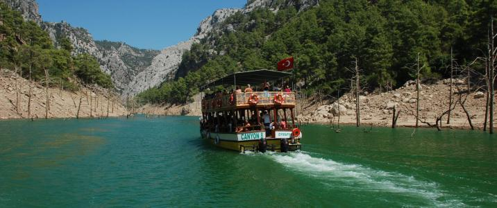 Green Canyon Tour From Alanya